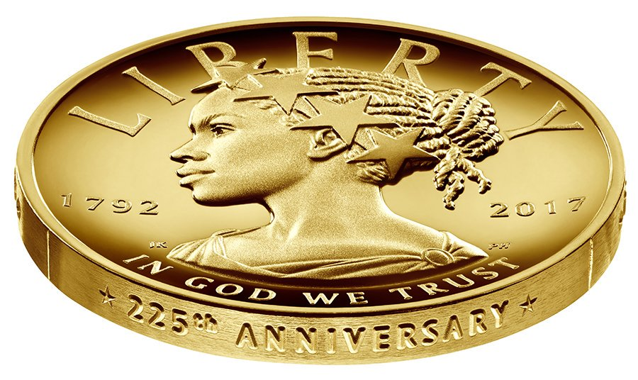 Lady Liberty portrayed as woman of color for the first time ever on U.S. currency