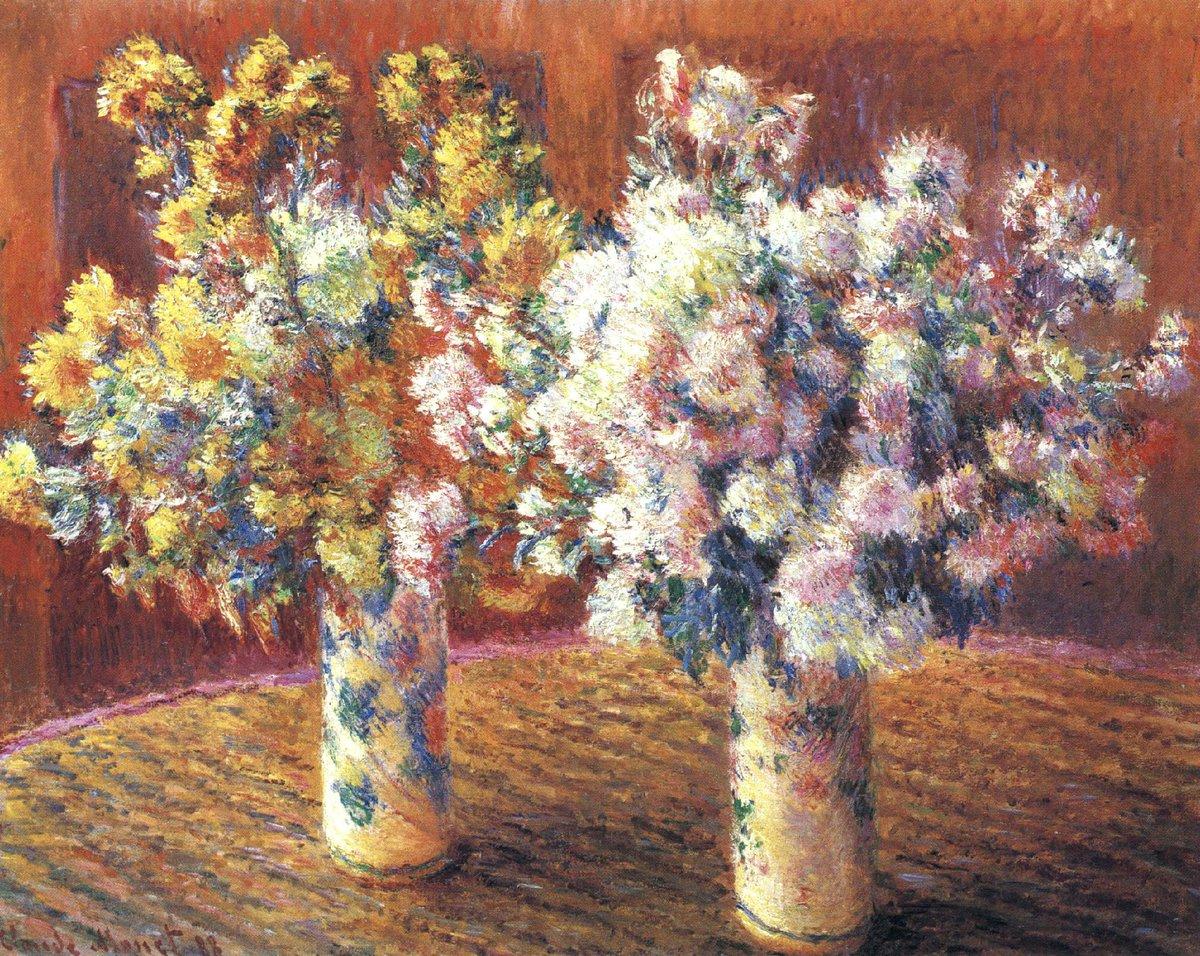 Aesthetic Sharer Zhr On Twitter Impressionist Flower Painting French Artist Claude Monet 1840 1926