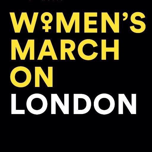 London women's anti-Trump march, 21 January