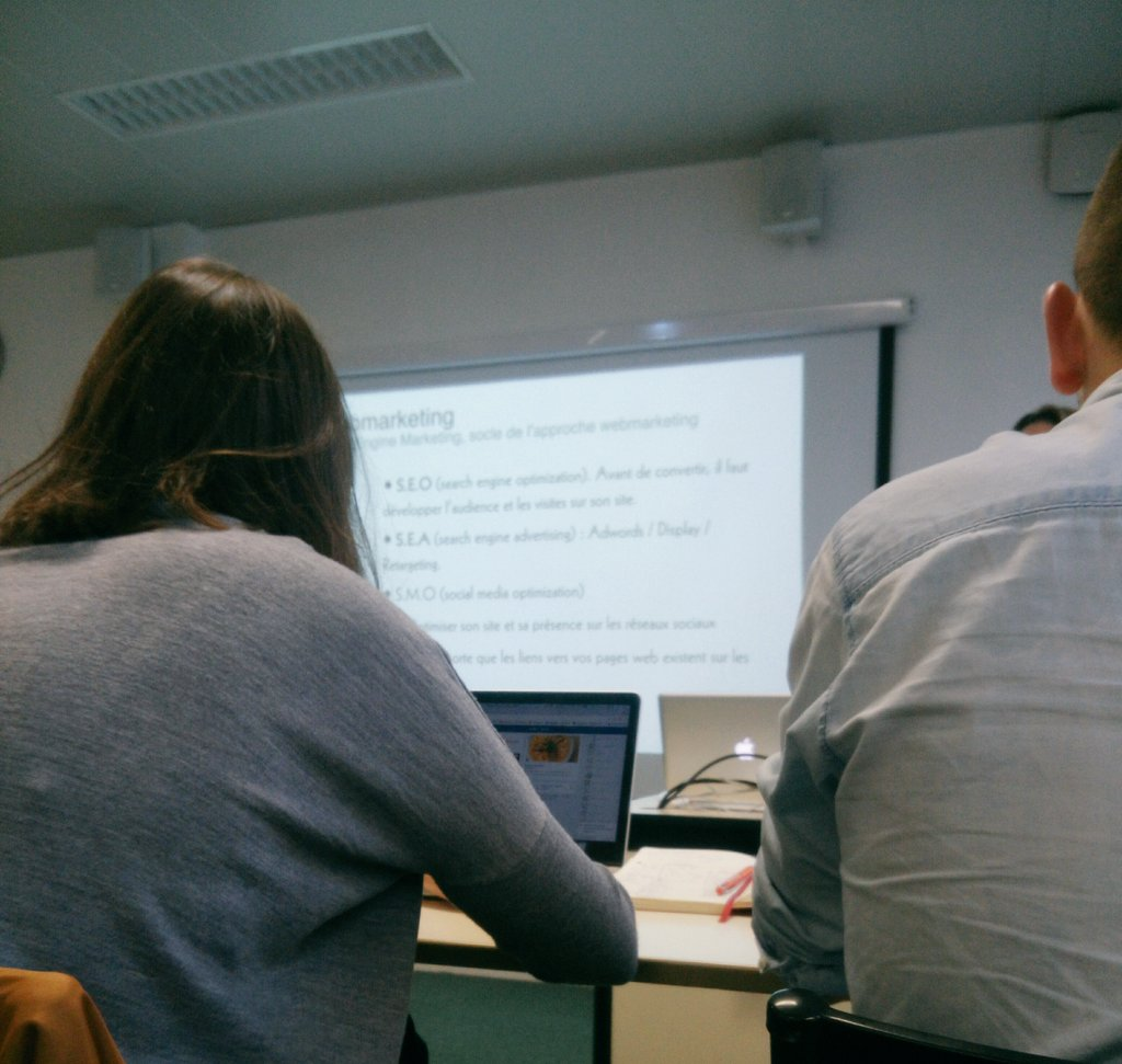 Une intense semaine d&#39;#Electifs se profile à @audencia_com .  Au programme : #referencement  ! Intéressant non ?  #webmarketing #Digital <br>http://pic.twitter.com/BPRIwIUde5