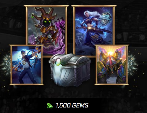 SMITE Digital Loot Pack Giveaway Image