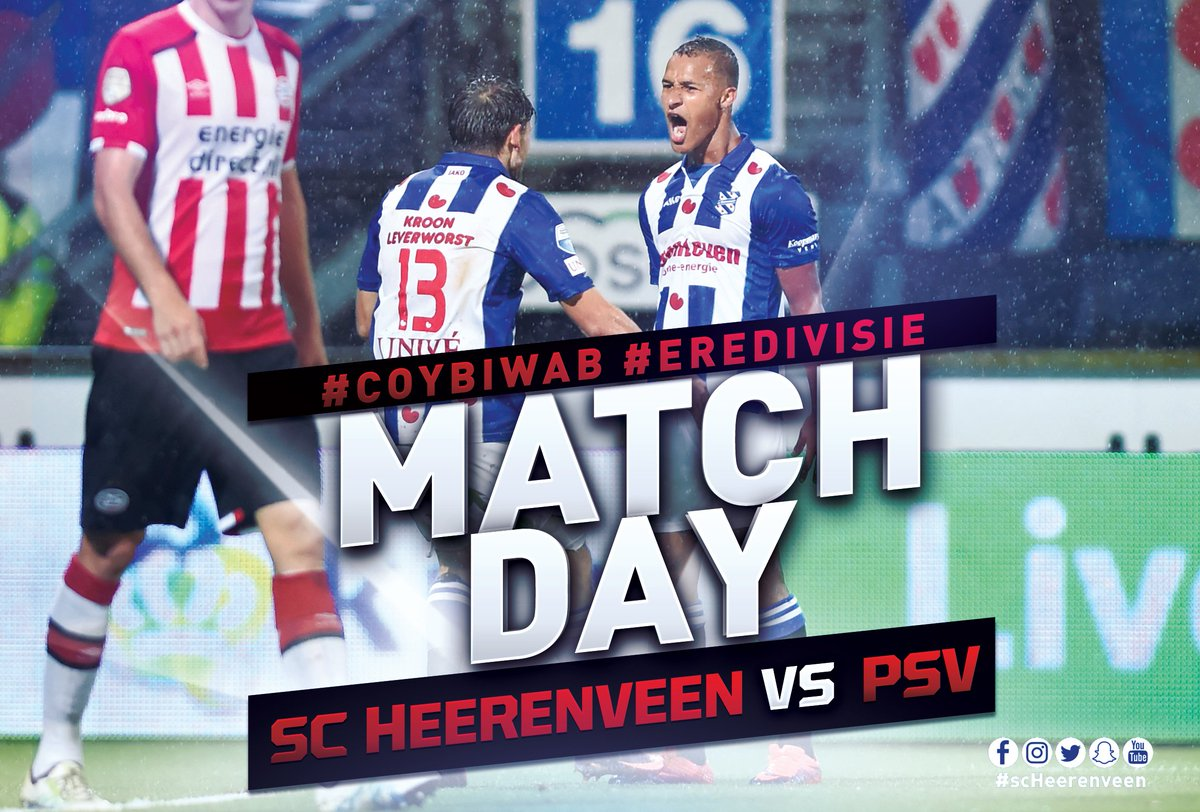 Come on you boys, it's #matchday! #coybiwab #psvhee ⚪️🔵💪 https://t.co/...
