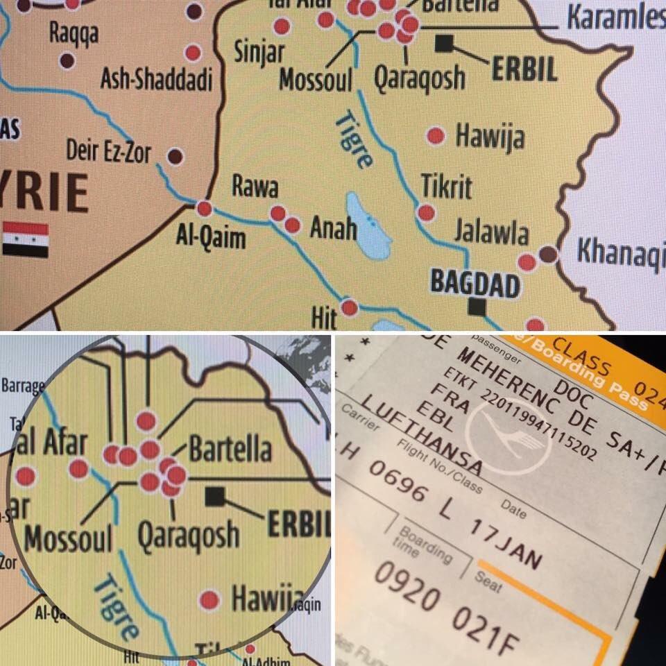 C&#39;est parti pr 1 semaine de reportage ds la plaine de #Ninive avec @OeuvredOrient  À voir sur #KTO le 01/02 #ChretiensdOrient #Irak #Erbil<br>http://pic.twitter.com/X3sb7h9hQi