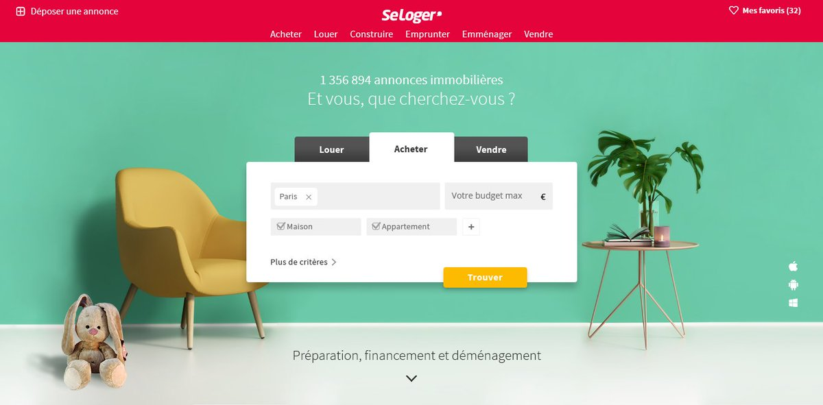 .@SeLoger vous accompagne tout au long de vos projets   http:// bit.ly/2juIXHR  &nbsp;   #new #FierDeSeLoger <br>http://pic.twitter.com/00paQIL4HE