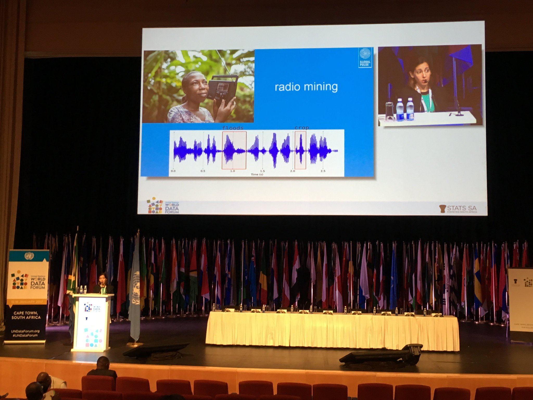 Presenting our radio mining tool @UNDataForum! Looking forward to our interactive workshop this afternoon! https://t.co/4YZA45WL1E https://t.co/UNHg4lskhK