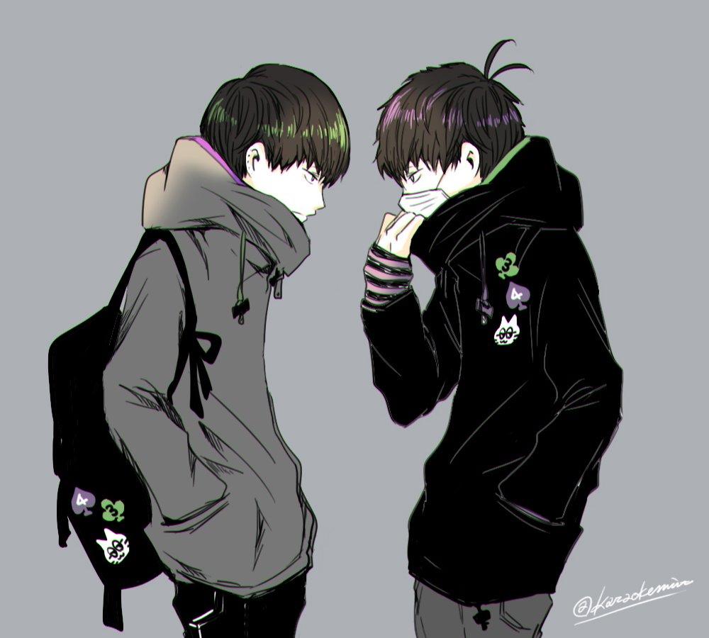 """さんかく。 on twitter: """"双子コーデ年中松。… """""""