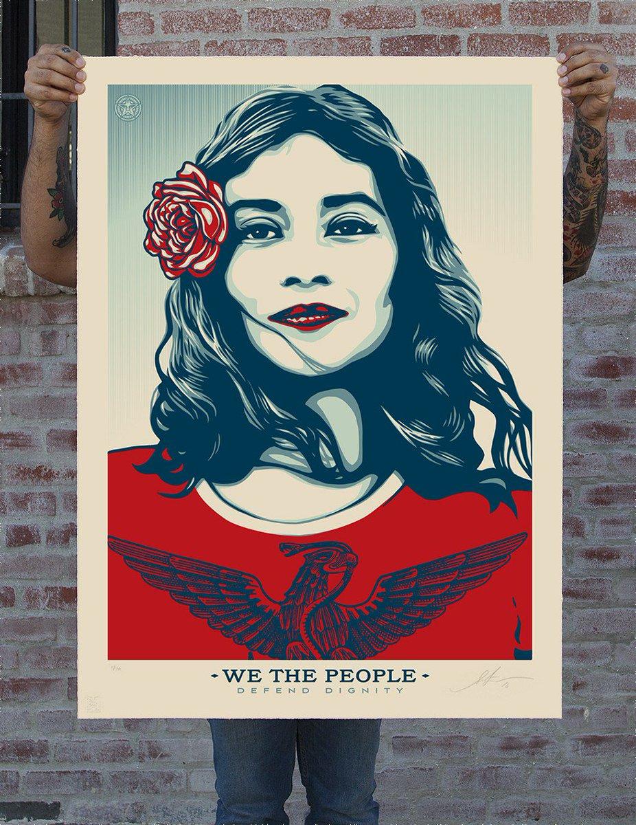 Après son Hope pour #Obama @OBEYGIANT réserve une série d&#39;affiches pour Donald Trump #washingtonpost #WeThePeople   https:// obeygiant.com/we-the-people- launch/ &nbsp; … <br>http://pic.twitter.com/MErna8HTgl