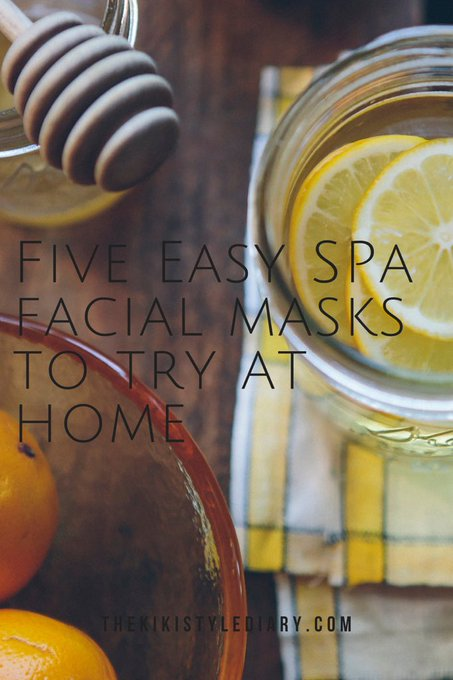Five Easy Spa Facial Masks to Try at Home