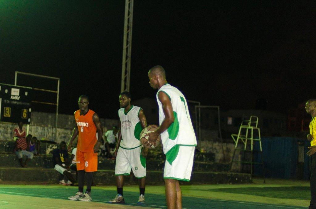 My last made free throw of the GHANA BASKETBALL LEAGUE ( .600)