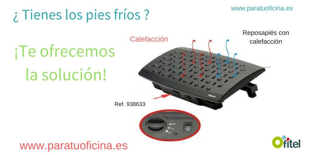 #oladefrio Reposapiés con calefacción para los frioleros  #oficina #trabajo #solucion perfecta para los pies frios! #felizmartes<br>http://pic.twitter.com/vmxis4BUR5