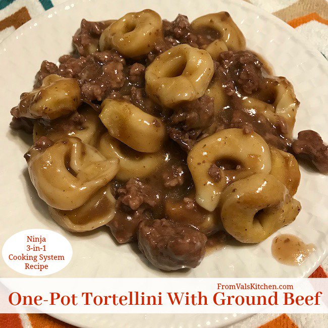 #OnePot #Tortellini With Ground Beef #Recipe For Ninja 3-in-1 Cooking System https://t.co/Im8zrFnQo5 https://t.co/mRGS6GF2LW