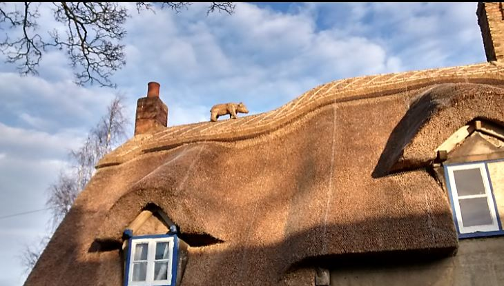 10 Claygate Whittlesey  developer wants to knock it down now re thatched with boar, Grade 11 listed https://t.co/6G2V70nJQB