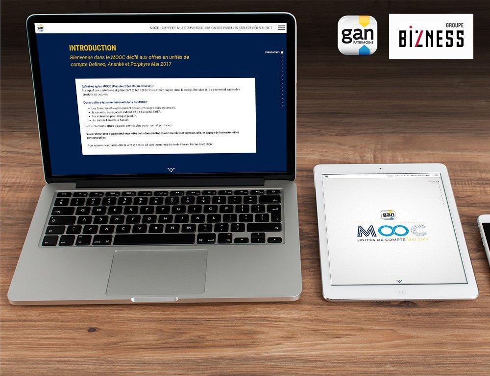 Nouveau #MOOC - Support à la commercialisation des produits structurés mai 2017 pour Gan #webdev #Presentation #new  http://www. iwit-systems.fr/actualites/61- mooc--gan.html &nbsp; … <br>http://pic.twitter.com/ccSbQZgQCW