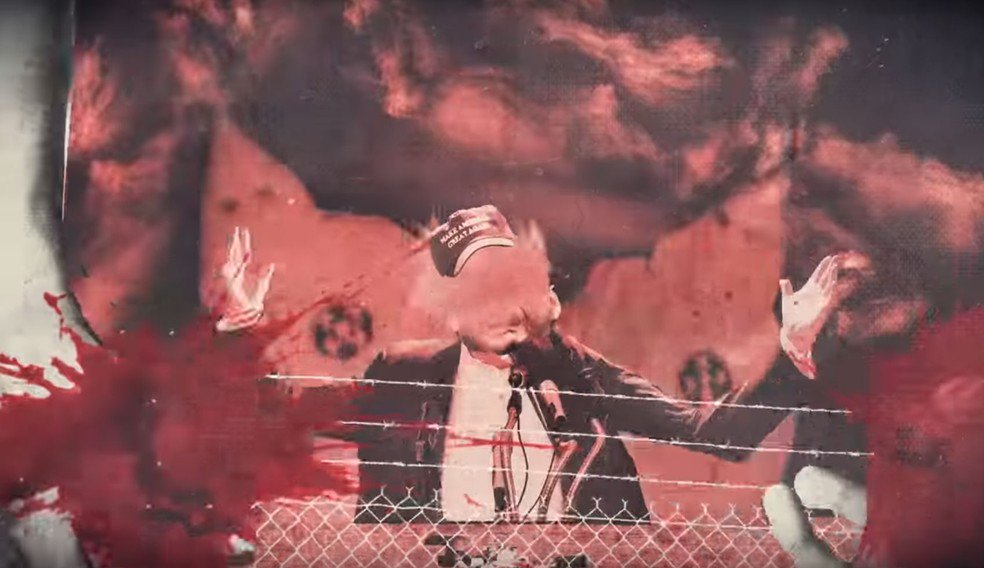 Green Day lança clipe anti-Trump com fogo e sangue; assista a 'Troubled times' https://t.co/dvReu2um6r #G1