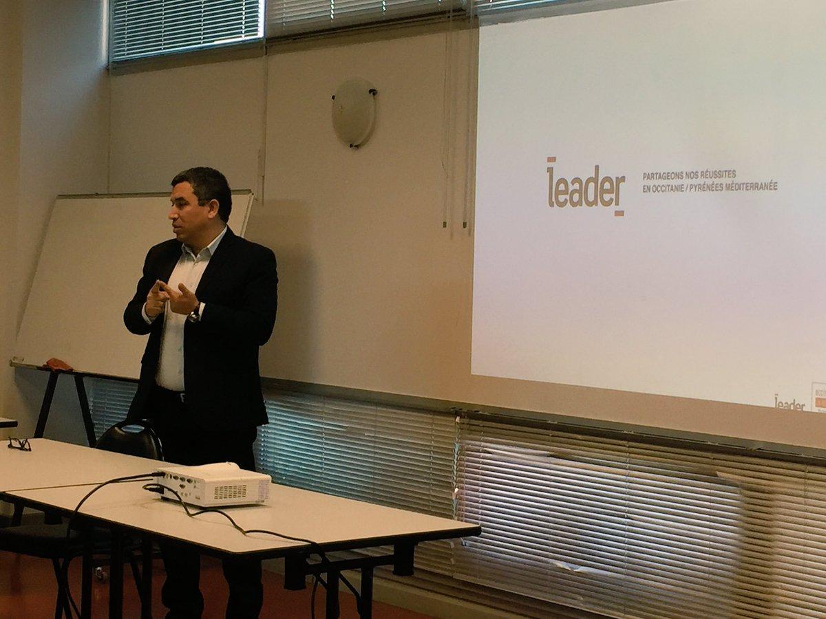 Création de #LeaderBagnols : @JBenabdillah présente l&#39;historique et l&#39;évolution de Leader #Occitanie. <br>http://pic.twitter.com/K1DjBJC3Xx