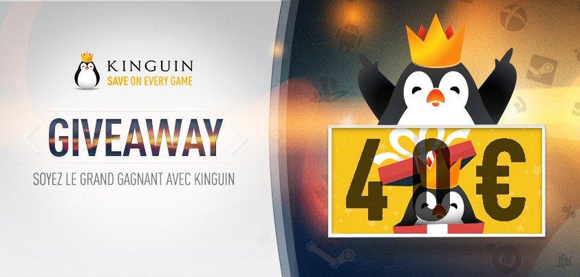 Gros #CONCOURS avec Kinguin! Gagnez un bon de 40€ à utiliser sur Kinguin.fr! #RT + #Follow + utiliser #KinguinConcours Bonne chance à tous<br>http://pic.twitter.com/02knwjUIrT