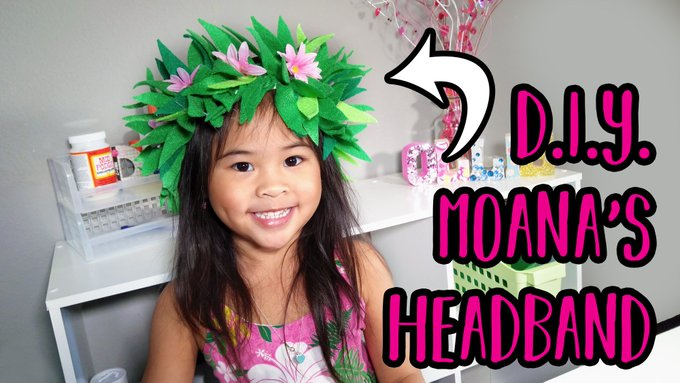 DIY Moana Headband