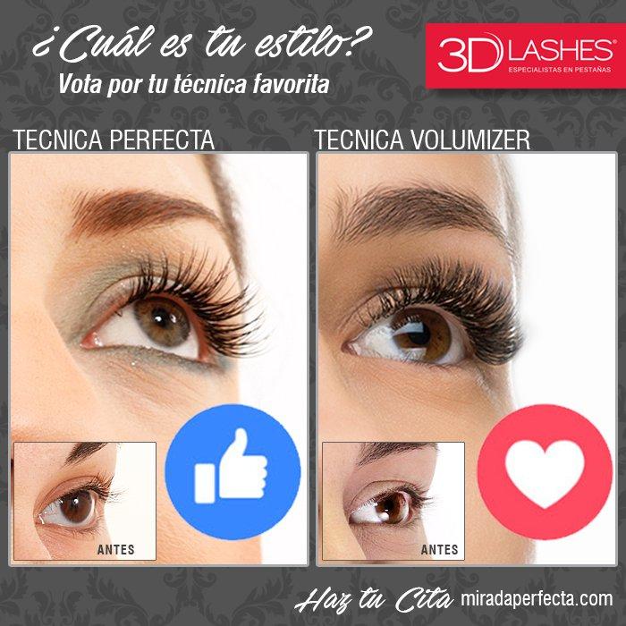 1a0968a6652 Tu decides acabado Natural #TecnicaPerfecta o Mirada Intensa con más  Volumen en #3DLashes http://www.miradaperfecta.com pic.twitter .com/d6NcpVvMZC