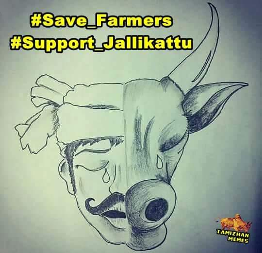 Keerthi Sankar On Twitter Saveourculturejallikattu Save