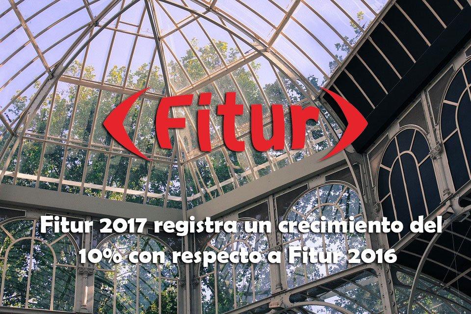 ¡Hoy comienza #Fitur2017 experimentando un gran crecimiento con respec...