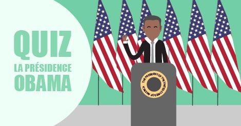 Départ d'#Obama : un quiz pour 2 mandats. #Obamacare #USA  http:// j.mp/2j3NJZO  &nbsp;  <br>http://pic.twitter.com/KYUzcUvC4v