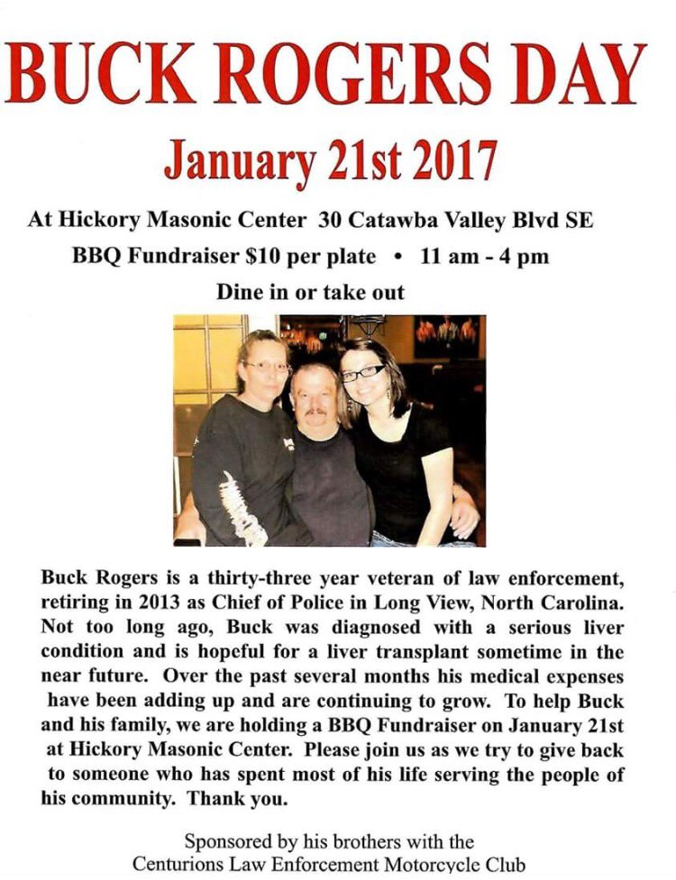 Saw this over in Long View about the former police chief. Hope the fundraiser is a success.