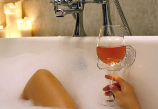 Deep thoughts this Tuesday - why is it acceptable to drink wine in the bath but not in the shower? #CorkLike #Wine #ShowerVBath #Debate <br>http://pic.twitter.com/cKFdIcePpl