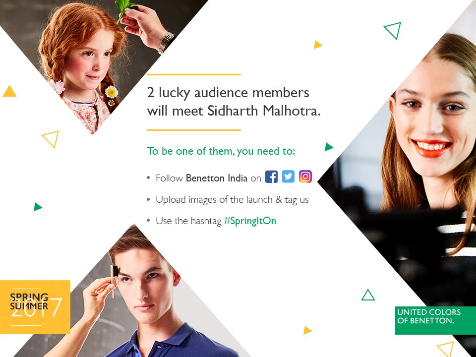 This is a once-in-a-lifetime opportunity to meet @S1dharthM! #SpringIt...