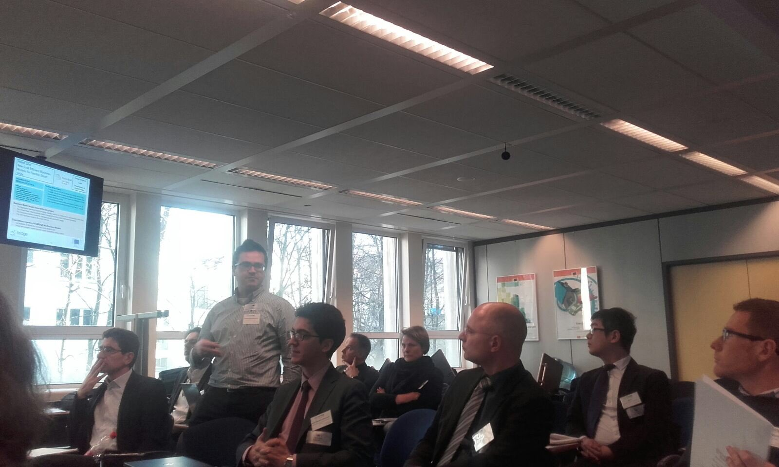Our partner Costas Kaligoros of @AUEB is presenting @NobelGrid at the Business models working group of #Bridge_EU meeting https://t.co/4wBtnEB1xh