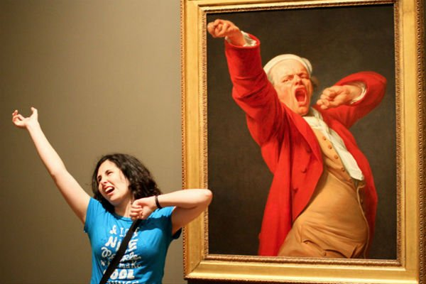 Российские музеи примут участие в международной акции #MuseumSelfie  h...