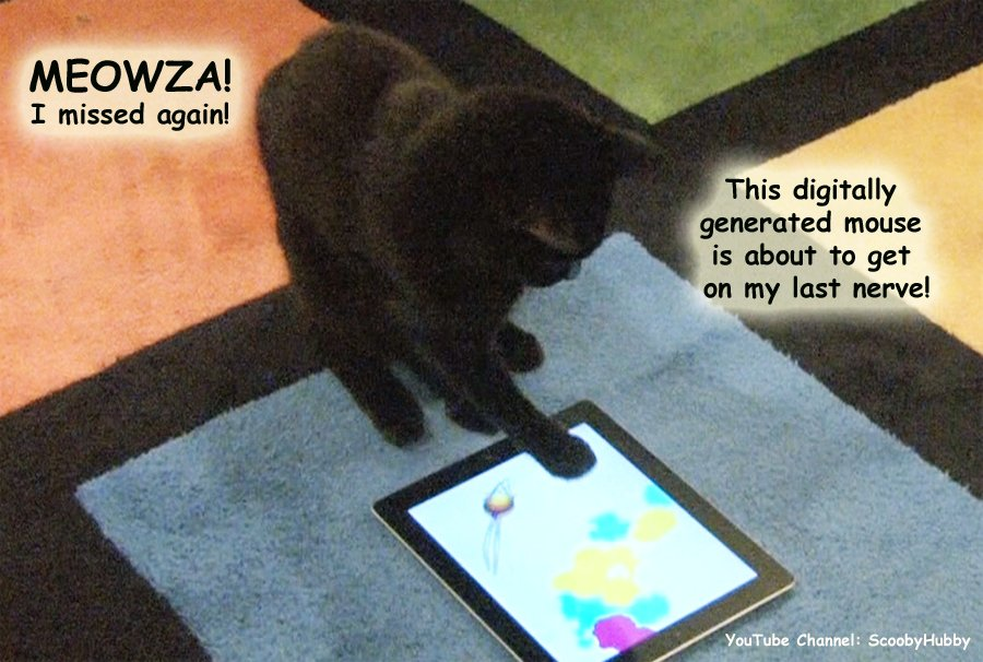 Cats playing ART OF THE MOUSE #ShouldBeAllowedAtWork. Cause watching them play the game is very calming. Watch:  https://www. youtube.com/watch?v=3Dz8Cj 1xFV8 &nbsp; …  #wlf<br>http://pic.twitter.com/ohmSTIMxm0