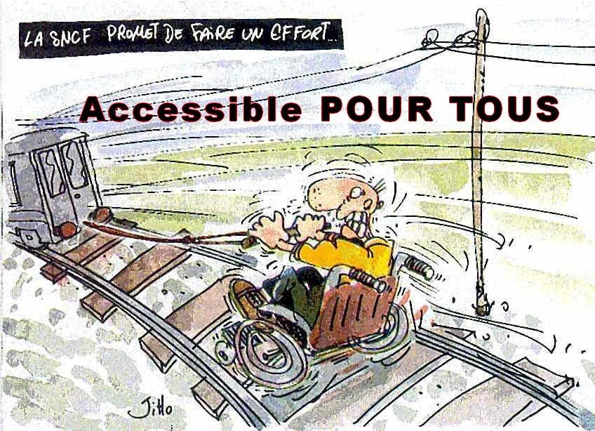 #RT A la @SNCF tout est possible, Même la discrimination des #Handi !  http:// fb.me/W52ispOd  &nbsp;  <br>http://pic.twitter.com/PYa1B66FJK