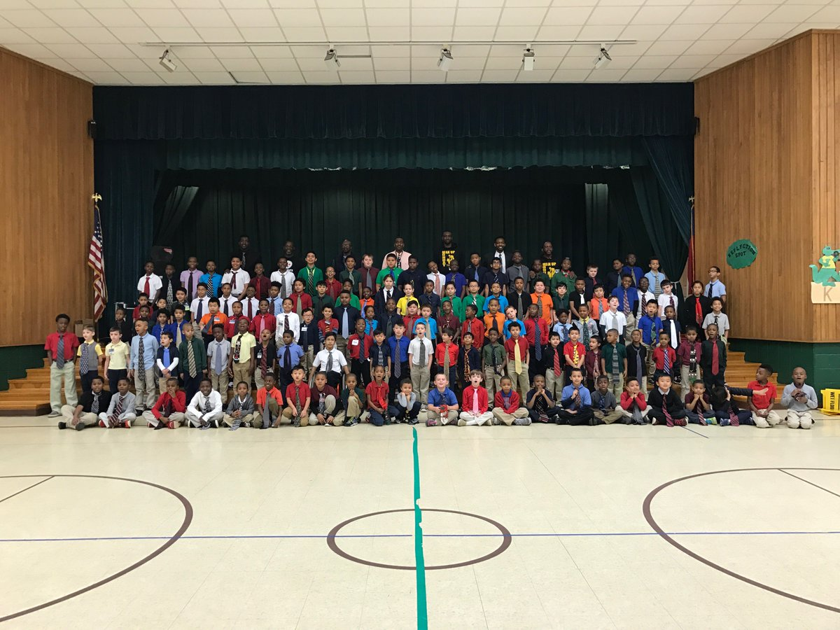 125 Isenberg boys in #ties this today! Thankful for the support! @IESprincipal23 @lynn_moody @RSSinformation We want another school in RSSS.<br>http://pic.twitter.com/LKjNeOEMLj