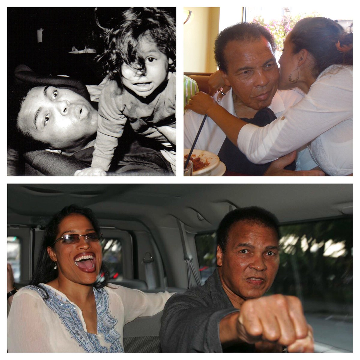 Happy 75th Birthday Daddy @MuhammadAli I miss you so much!!! 😘 https:/...