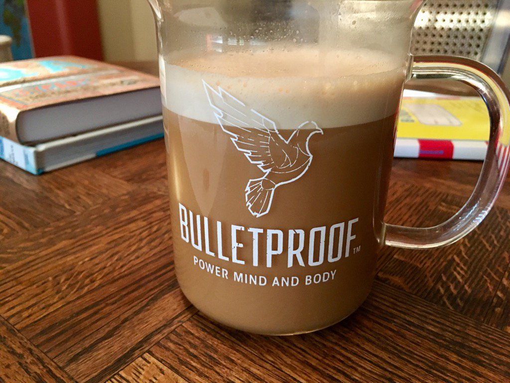 It's a #bulletproofcoffee day