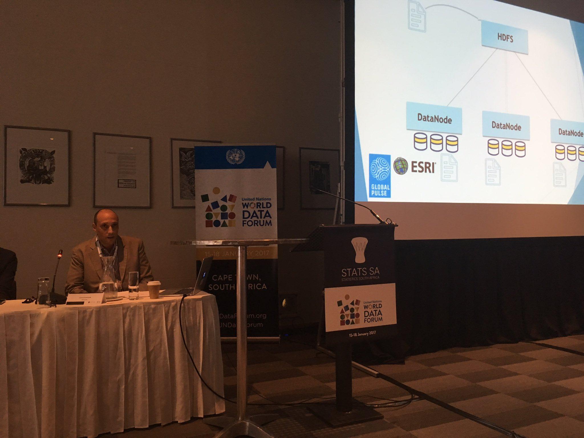 @Esri @PulseLabKampala &@UNGlobalPulse hosting a session at @UNDataForum on using big data for SDGs https://t.co/XA3ELlfEIs