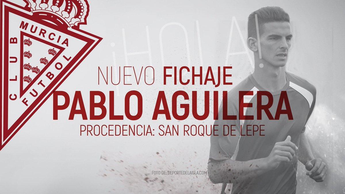 OFICIAL | El #RealMurcia se hace con los servicios del atacante Pablo...