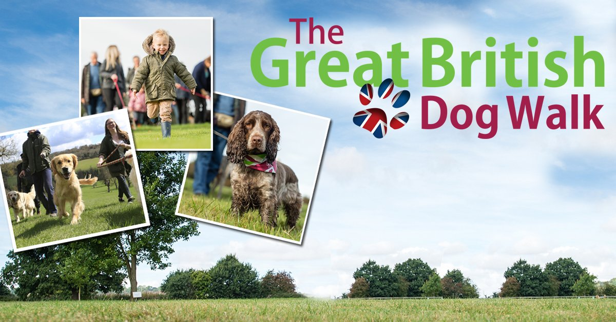 Don\'t miss The Great British Dog Walk 2017! Where is your nearest walk? Find it here >>