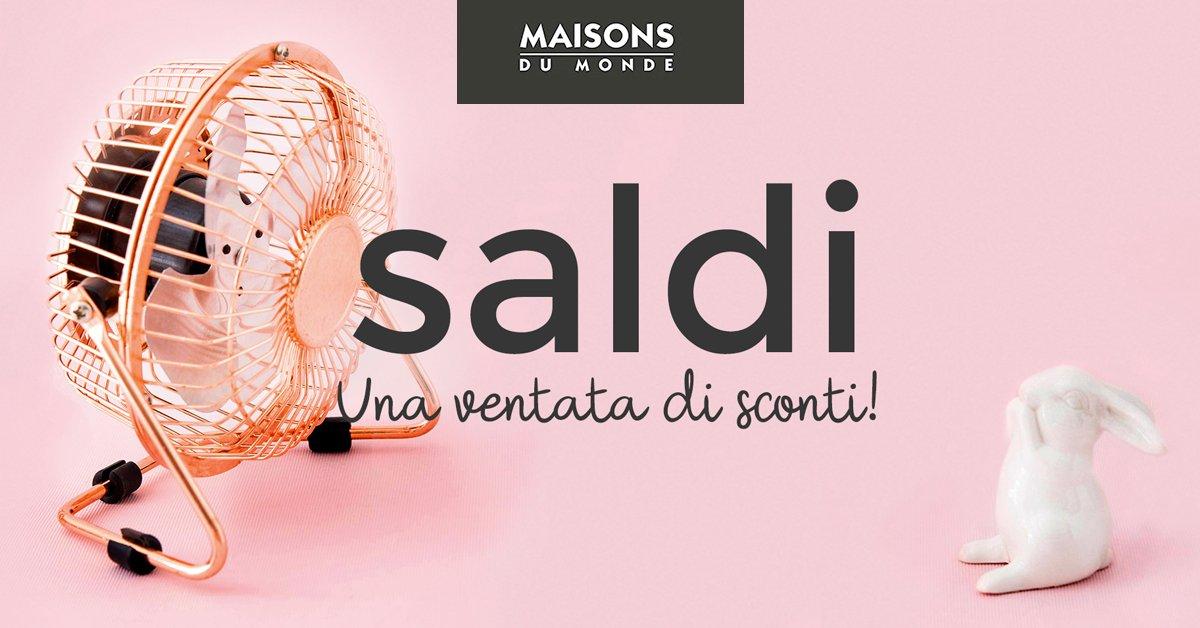 #MaisonsDuMonde  Saldi: preparati a farti travolgere! Sconti eccezionali su mobili e complementi d&#39;arredo   http:// bit.ly/2jFUO3g  &nbsp;  <br>http://pic.twitter.com/avM6V7UuRJ