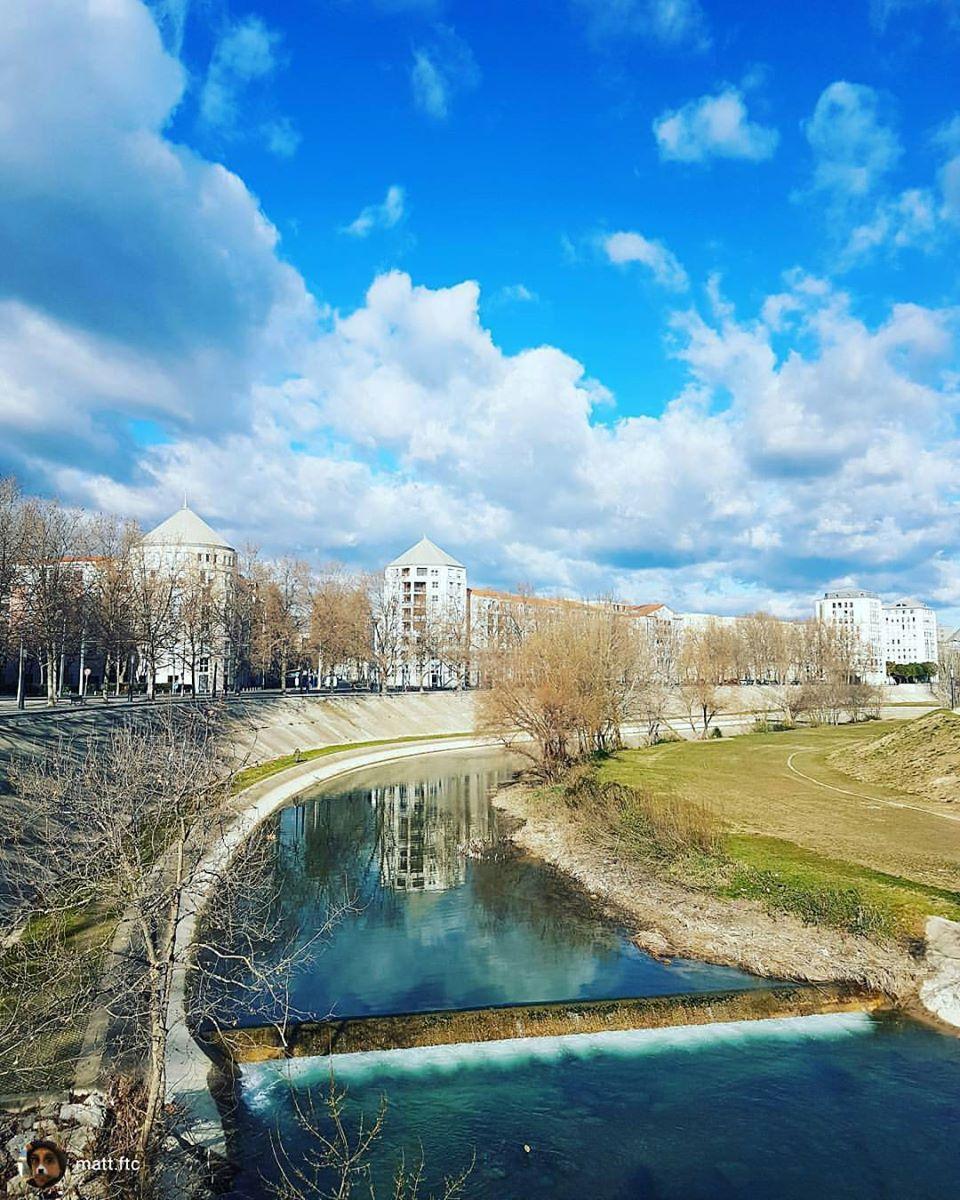 Les rives du lez un jour d&#39;#hiver à #Montpellier Repost de @matt.ftc sur instagram<br>http://pic.twitter.com/qPEUatEY3a