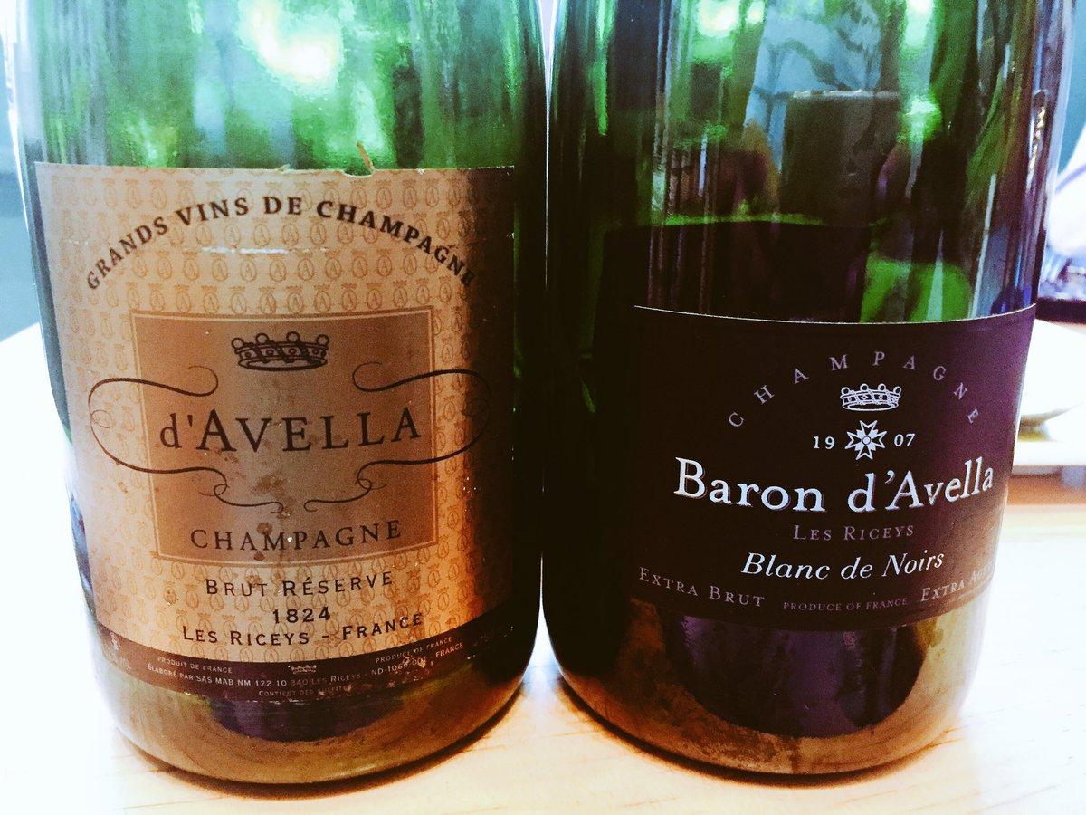Tasting new #Champagnes this morning #D&#39;AvellaGarnier #BlancdeNoirs #Barondavella @bandolwines #goodmorning #wineworld<br>http://pic.twitter.com/mS5hWJbbBK