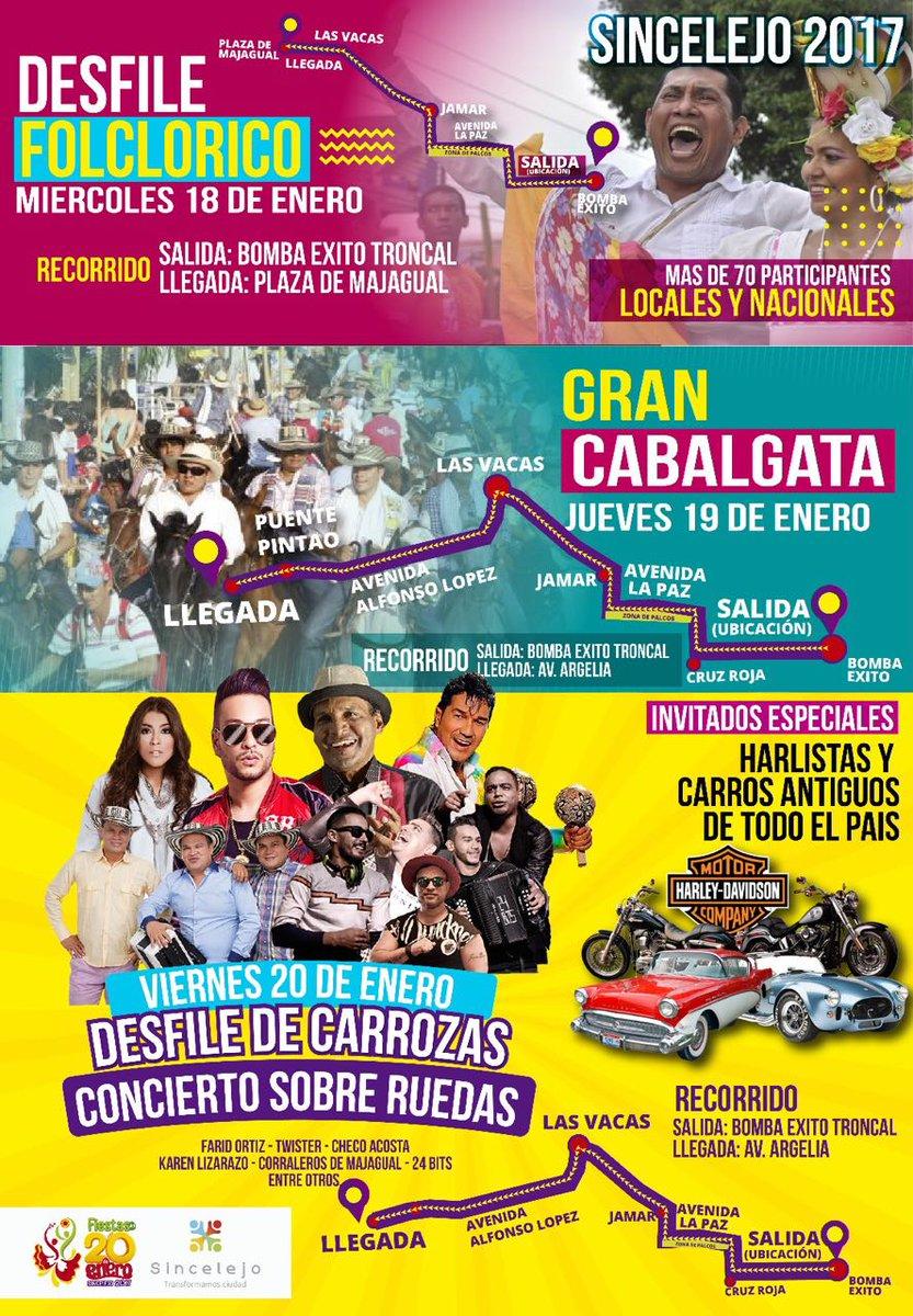 Desfile Folclórico Gran Cabalgata Desfile de Carrozas y Concierto Sobre Ruedas ¡Esta semana! #Fiestas20deenero #Cabalgata #DesfiledeCarrozas<br>http://pic.twitter.com/gUjUZXNZGK