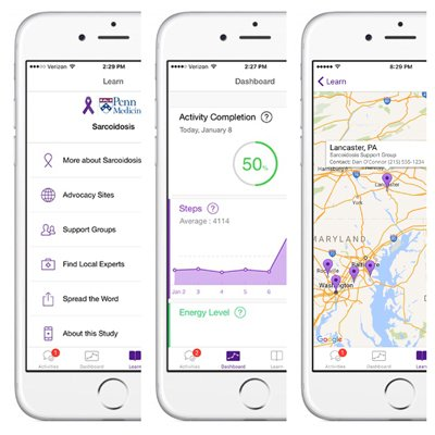 test Twitter Media - RT @moorejh Penn Medicine Launches #Apple ResearchKit App for #Sarcoidosis Patients https://t.co/ULadTvRkCk #mhealth #healthit #penn https://t.co/6ClXpbB4Ih