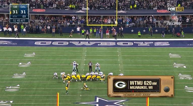 Listen to the home &amp; away radio calls of the #Packers&#39; game-winning drive in Dallas!   :  http:// pckrs.com/wk46  &nbsp;    #GBvsDAL #GoPackGo <br>http://pic.twitter.com/1LgYfkG9MZ