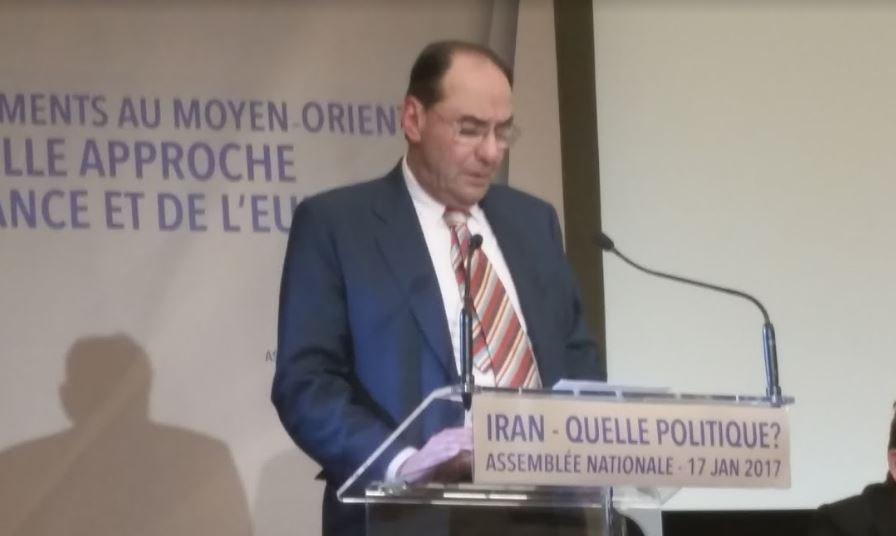 .@VidalQuadras Le rôle destructeur du régime iranien n&#39;est pas pris compte par l&#39;Ocident #DirectAN #Paris #FreeIran <br>http://pic.twitter.com/ik35MQioeU