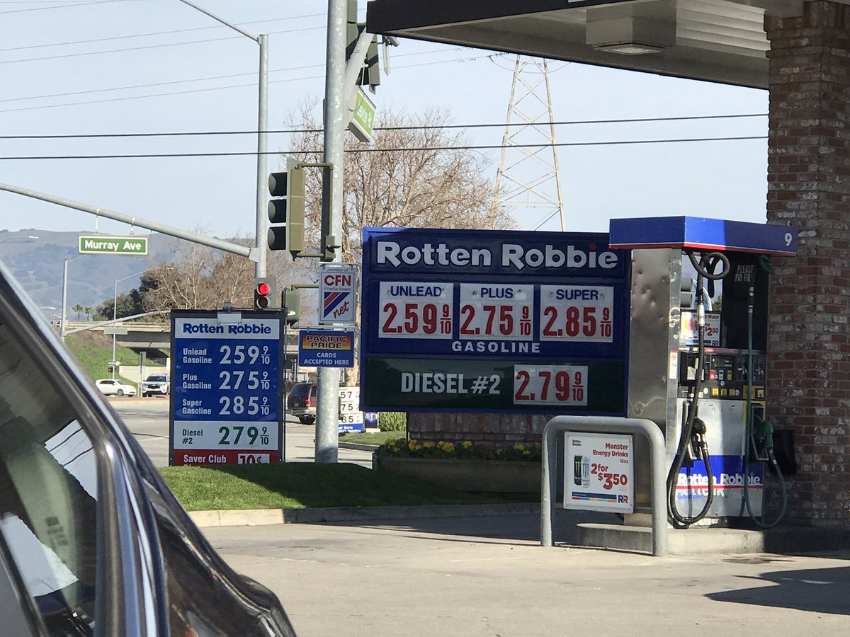 ROBBIE ROTTON HAS A GAS STATION IN GILROY.  I BET IT'S NUMBER ONE. https://t.co/evBICi6ehq