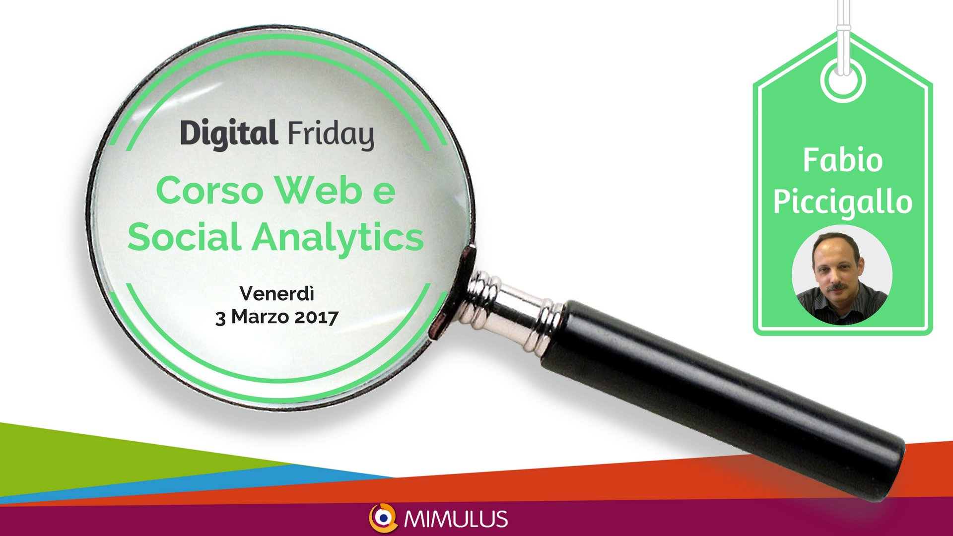 Thumbnail for Web e Social Analytics - #CorsoInTweet