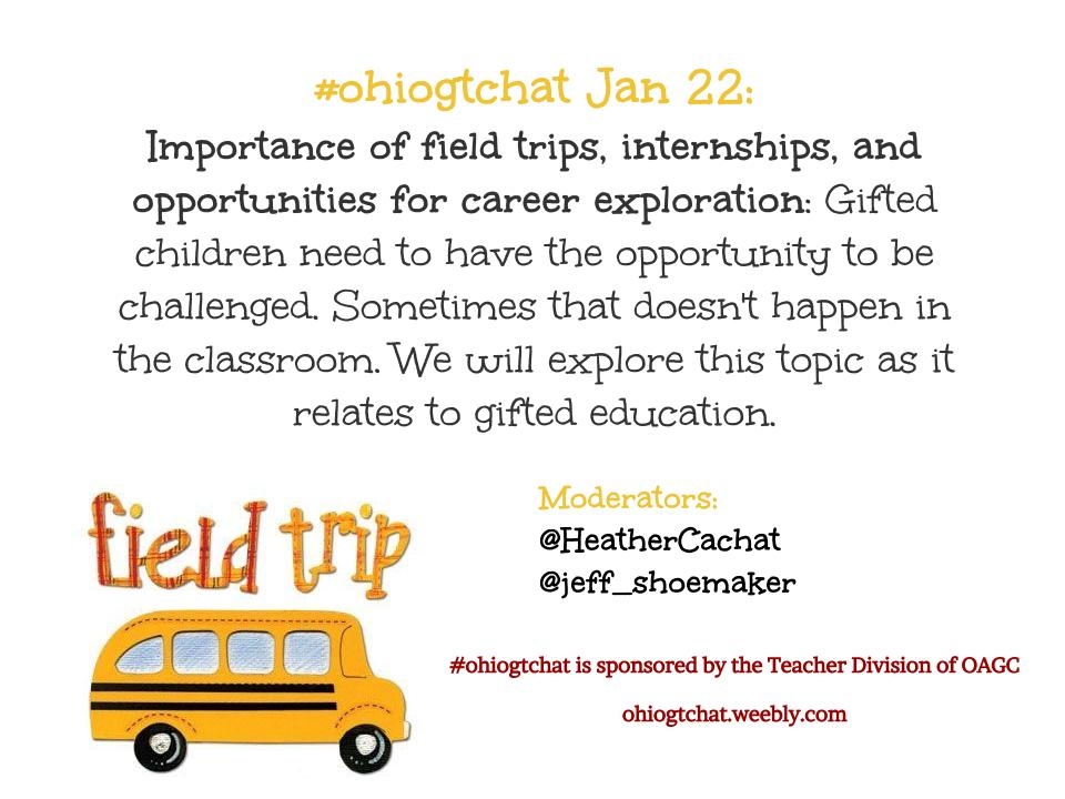 Thumbnail for Jan 22: Importance of field trips, internships, and opportunities for career exploration
