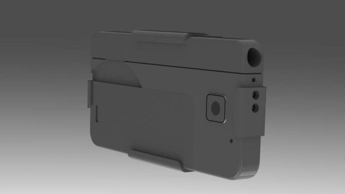 Un pistolet en forme de smartphone va être produit en mars prochain aux États-Unis  #États-Unis #High Tech #pist  http://www. b2s.pm/0DMUpn  &nbsp;  <br>http://pic.twitter.com/HUTw8oWpF9