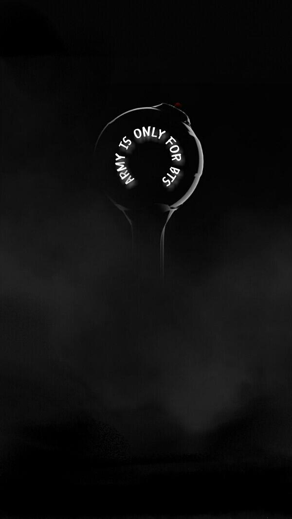 Kpop Lockscreens On Twitter 011717 Bangtan Bomb Lightstick